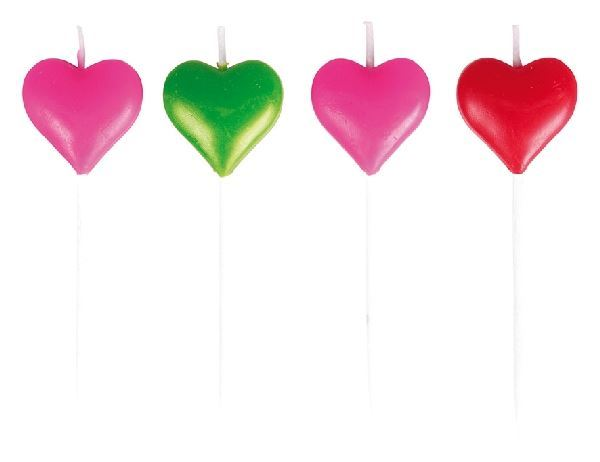 Picture of Velas mini corazones (8)