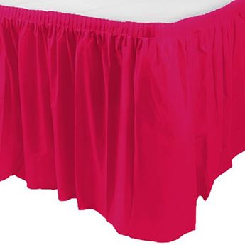 Picture of Falda de mesa fucsia