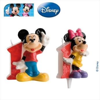 Picture of Vela 1 Mickey y Minnie (2)