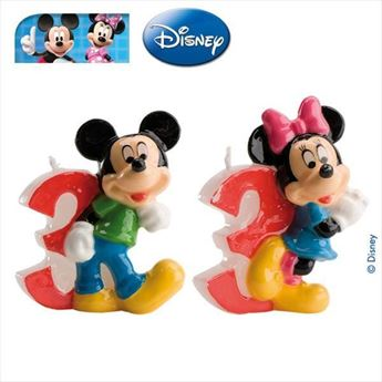 Picture of Vela 3 Mickey y Minnie (2)