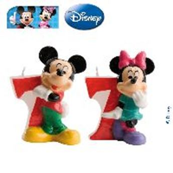 Imagen de Vela 7 Mickey y Minnie (2)