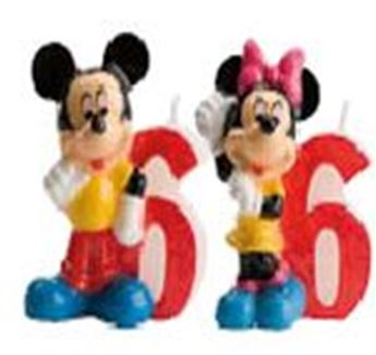 Picture of Vela 6 Mickey y Minnie (2)