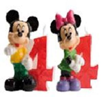 Picture of Vela 4 Mickey y Minnie (2)