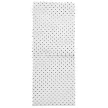 Imagen de Bolsas para cubiertos y servilletas puntos plata (4)