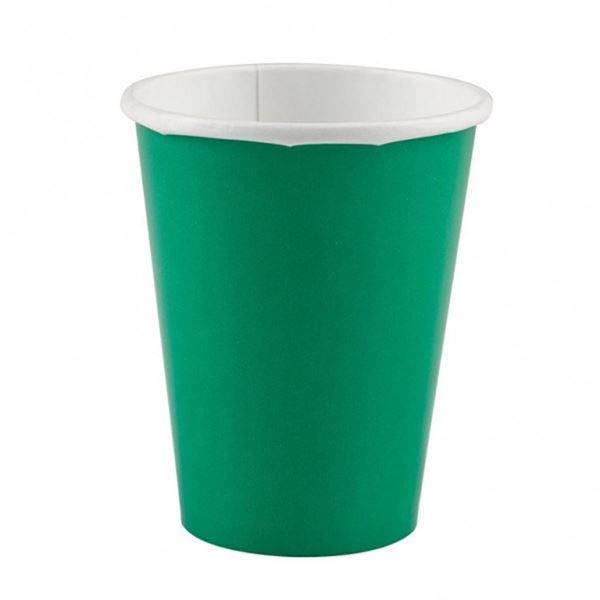 Picture of Vasos verdes de cartón (8)