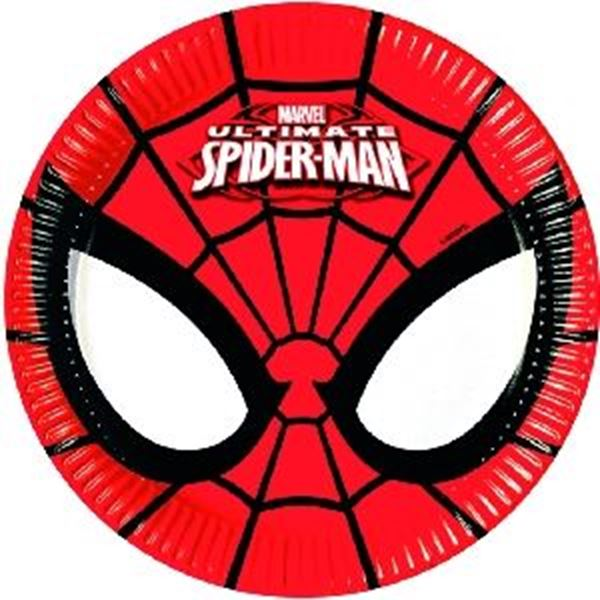 Imagen de Platos Ultimate Spiderman pequeños (8)