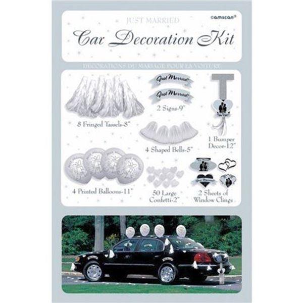 Imagen de Decoración coche bodas