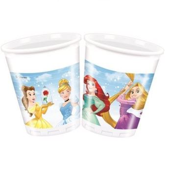 Picture of Vasos Princesas Disney corazón (8)