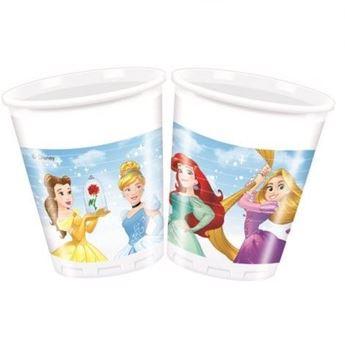 Imagen de Vasos Princesas Disney corazón (8)