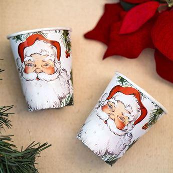 Imagens de Vasos Navidad Papá Noel maxi pack (12)