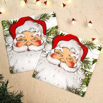 Imagens de Servilletas Navidad Papá Noel (20)