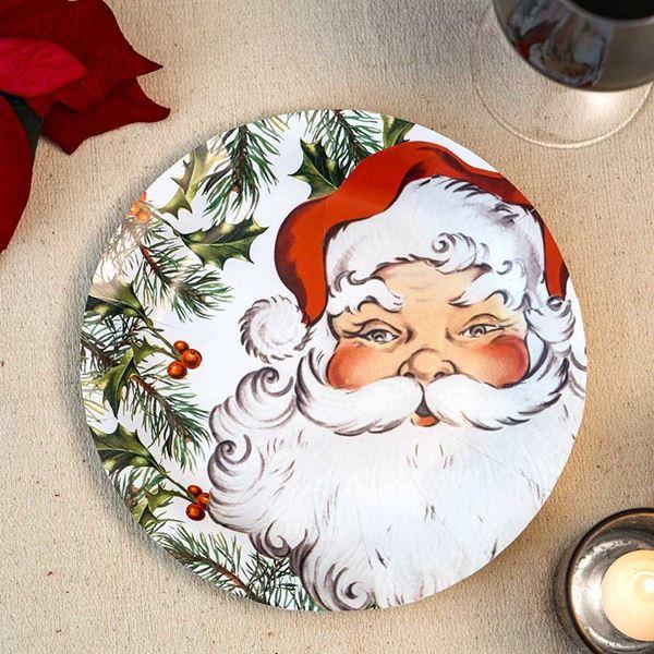 Imagens de Platos Navidad Papá Noel (8)