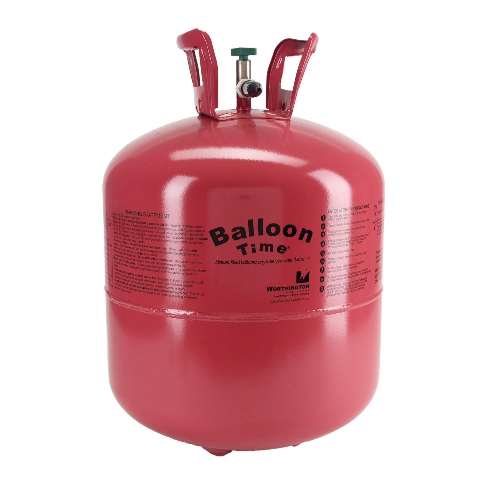 Comprar bombona de helio desechable para 50 globos de 23cm - Gas helio para globos precio ...