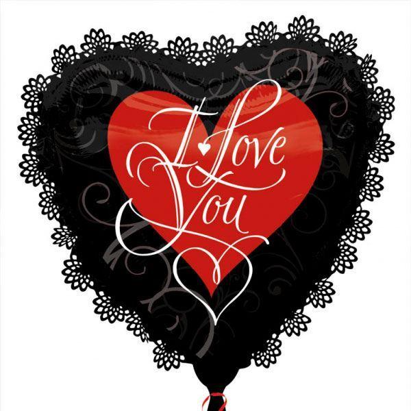 Imagen de Globo corazón I Love You