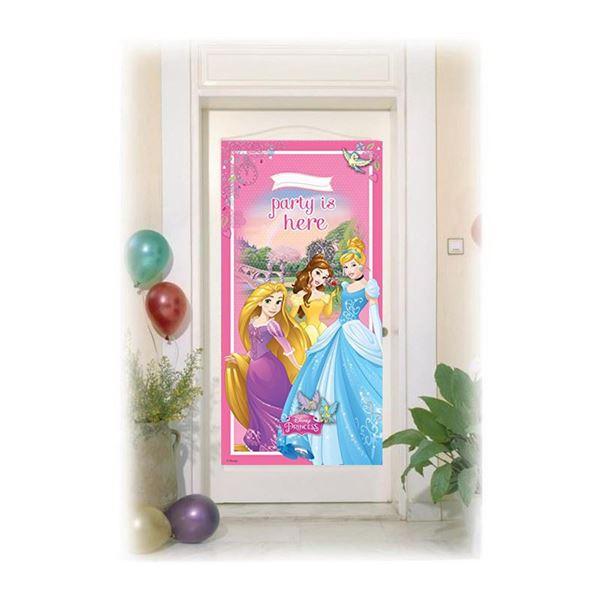 Imagen de Decorado puerta princesas Disney
