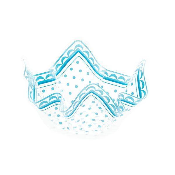 Imagens de Bol pañuelo puntos azules mediano
