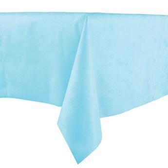 Imagens de Mantel azul claro tela sin tejer