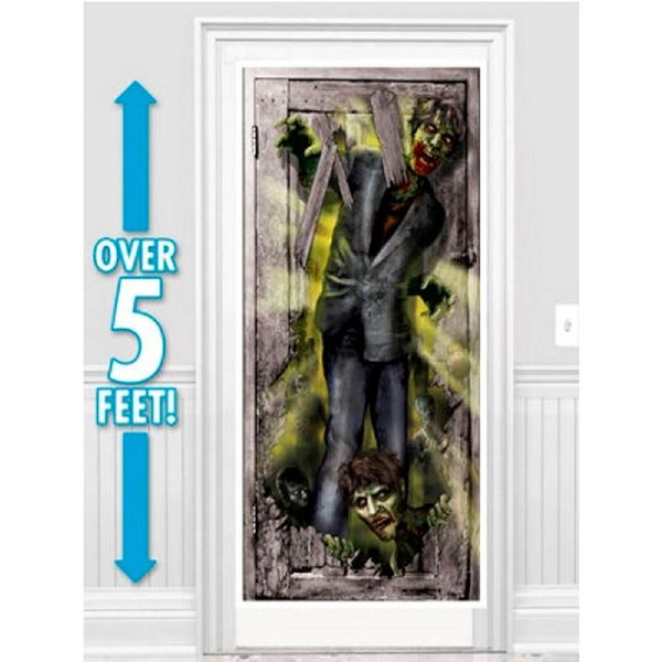 Imagen de Decorado puerta zombies entrando