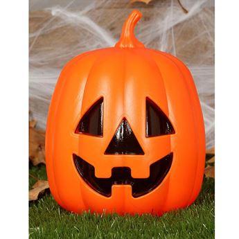 Imagens de Calabaza Halloween divertida con luz