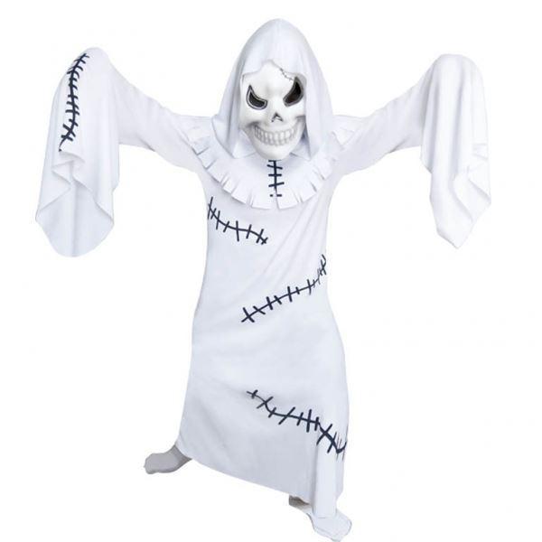 Imagens de Disfraz fantasma con máscara. Talla 9 a 11 años