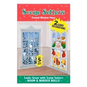Imagens de Decorados pared ventanas de Navidad (2)