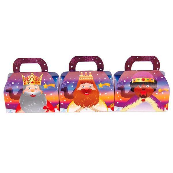 Imagens de Caja Navidad Reyes Magos