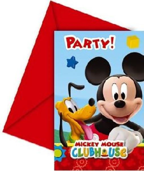 Picture of Invitaciones Mickey  (6)