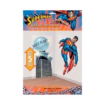 Imagen de Decorados pared Superman (2)