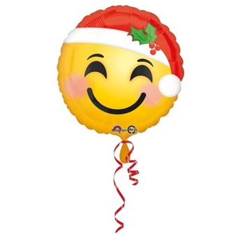 Picture of Globo Emoticono Santa