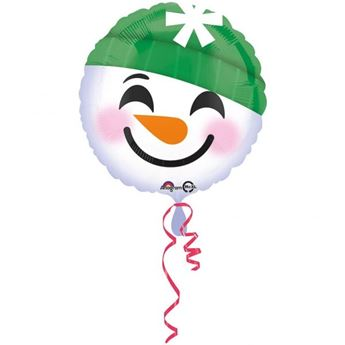 Picture of Globo Emoticono Muñeco Nieve