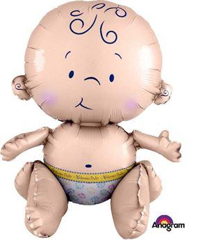 Imagen de Globo Bebé sentado