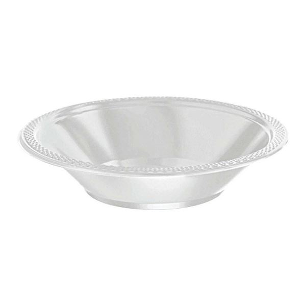 Picture of Boles blanco plástico (10)
