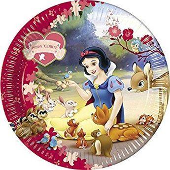 Imagens de Platos Blancanieves Disney grandes (10)