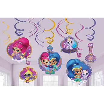 Picture of Decorados espirales Shimmer y Shine (12)