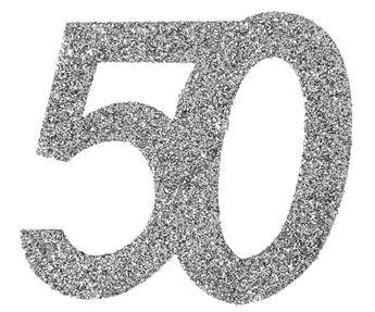 Imagen de Confeti gigante 50 años plata (6)