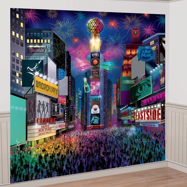 Imagens de Fondo Photocall Times Square gigante