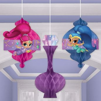 Picture of Decorados nido abeja Shimmer and Shine (3)