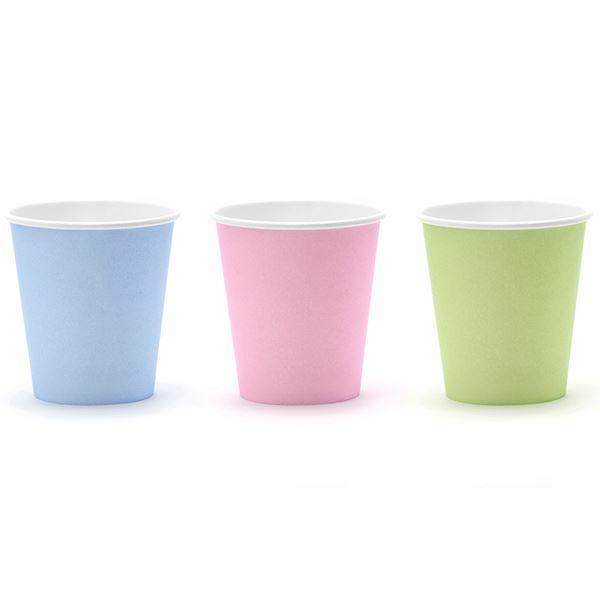 Comprar vasos colores pastel 6 online env o en 24h - Vasos de colores ...