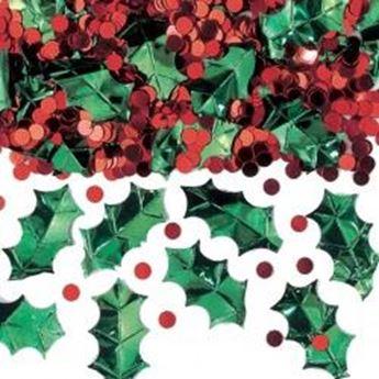 Imagen de Confeti Navideño rojo y verde (70g)