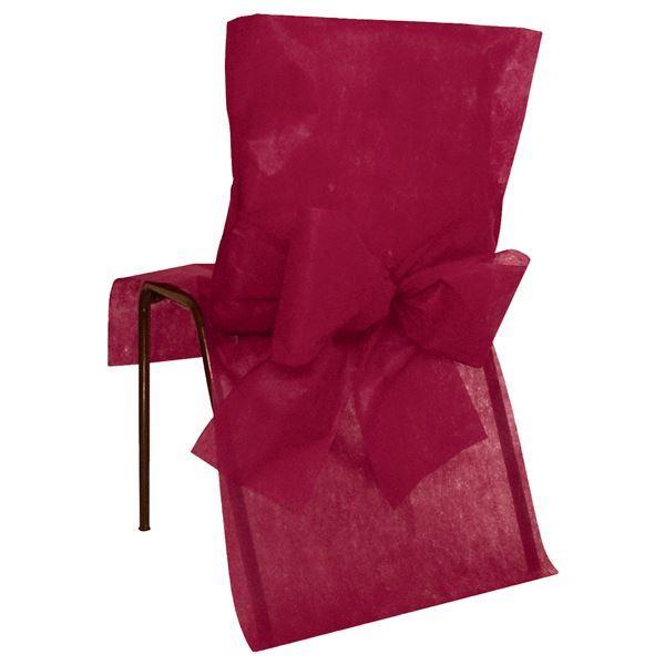Imagen de Fundas silla burdeos maxi pack (10)