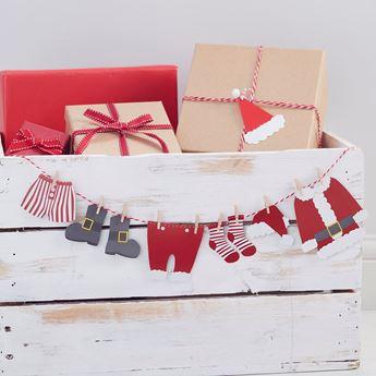 Imagen de Guirnalda mini duende de Navidad