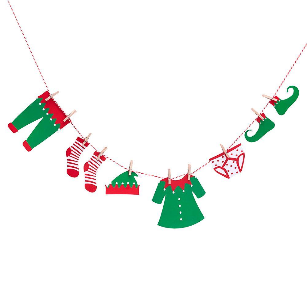 imagen de guirnalda mini duende de navidad - Guirnaldas Navidad