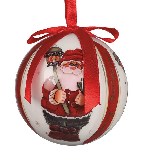 comprar adorno bolas navide as pap noel 6 online al