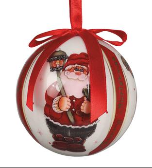 Picture of Adorno bolas navideñas Papá Noel (6)