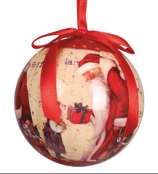 Imagen de Adorno bolas navideñas  7.5 cm (6)