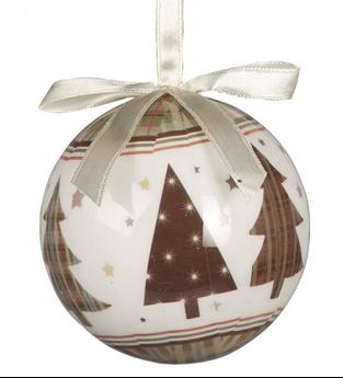 Imagen de Adorno bolas navideñas abeto (6)
