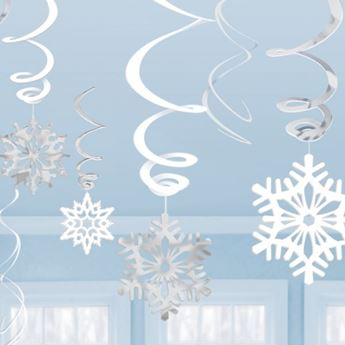 Picture of Decorados espirales copos de nieve (12)