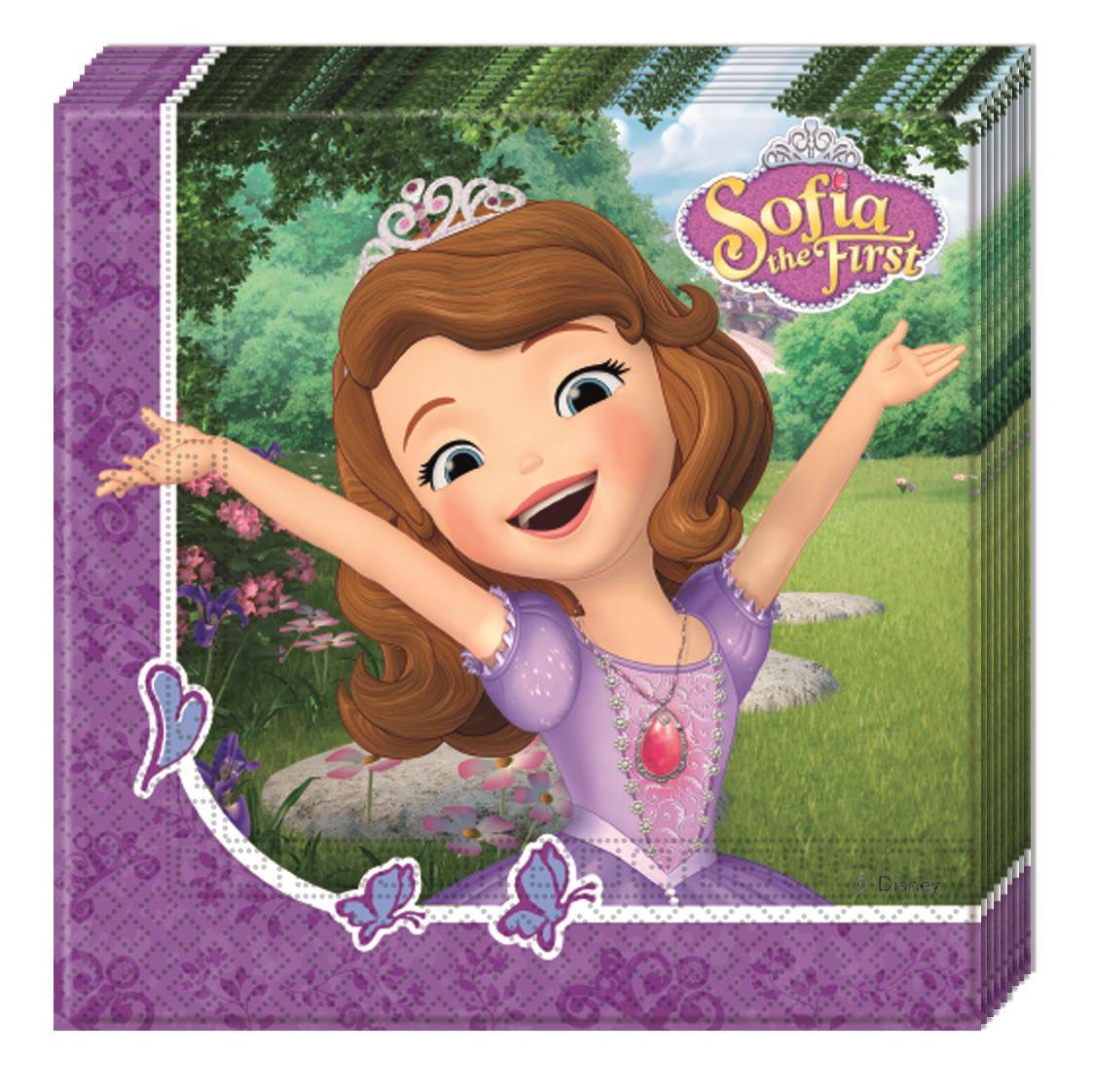 13a12734b Servilletas Princesa Sofía (20)✅ por sólo 2
