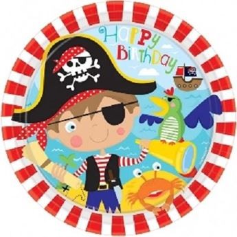 Imagen de Platos mi pequeño pirata (8)