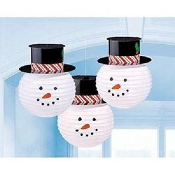 Imagen de Decorados muñeco de nieve (3)